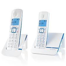 alcatel versatis f230 duo bleu téléphone sans fil alcatel sur
