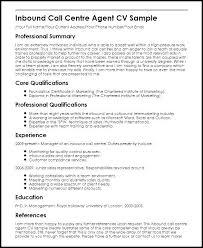Inbound Call Center Job Description For Resume Rep Sample Agent Format Outbound Beautiful
