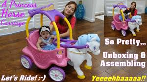 Family Toy Channel: Little Tikes Princess Horse Carriage Ride-On ... Little Tikes Cozy Coupe The Warehouse Princess 3in1 Mobile Enttainer Truck Pink For Sale In Ldon Preloved Toyzzmaniacom Incredible Cart At Picture Hot Summer Bargains On Why Toddlers Love Carmy Car Review Amazoncom Rideon Toys Games Being Mvp Ride Rescue Is The Perfect Princess Carriage Cozy Coupe For Girls Kids