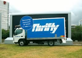 100 Thrifty Truck Rentals Outdoor Ad Billboard