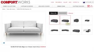 Ikea Karlstad Sofa Bed Slipcover by Karlstad Sofa Bed Review Centerfordemocracy Org