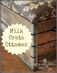How To Make An Ottoman Diy Painted Furniture Repurposing Upcycling