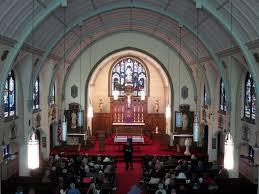 100 Loft 44 FileSaint Bernard Catholic Church Corning Ohio Nave View From
