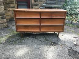Johnson Carper 6 Drawer Dresser by 6 Drawer Mid Century Low Dresser Attainable Vintage