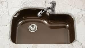 undermount porcelain kitchen sink houzer