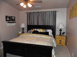 Curtain Designshealthy Gray And Yellow Geometric Curtains Along With Designs D Grey Bedroom Photo