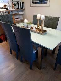 6 stühle hochlehner mit sitzkissen esszimmer sehr stabil