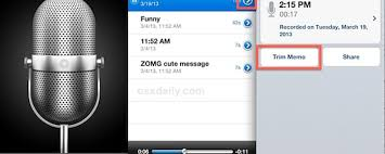 HOW TO Trim Voice Memo Recording Length on iPhone