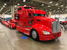 Photos: Day 2 Of Pride & Polish Trucks At The Great American ... A Dark Peterbilt Cabover Semi Truck Is Displayed At The 2018 Great Photos Day 2 Of Pride Polish Trucks American Success 2015 Trucking Show Landstar The Truck Recap Raneys Blog Gats 2013 In Dallas Tx By Picture Allies Booth Allie Knight Youtube Photo Gallery Great American Truck Show 2016 Dallas Bangshiftcom Big Rigs And More From