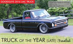 100 Chevy Truck 1970 C10 Of The Year Late Finalist Goodguys Hot News