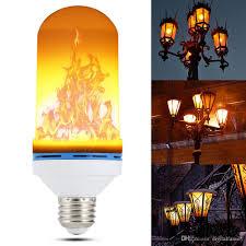 5w led effect light bulbs flickering emulation
