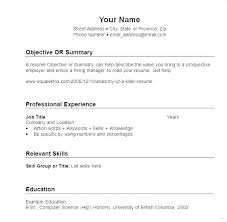 Skills For Resume Basic Examples Customer Service Manager Reddit