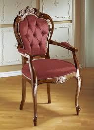 elegante esszimmer stühle oder sessel sessel rot nussbaum