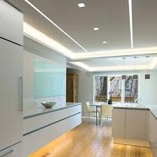 led linear wall wash lighting recessed washer reveal plaster in