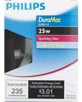 amazing deal on philips duramax medium g25 globe light bulb