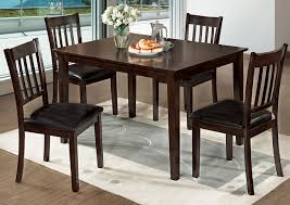 Max Five Star Furniture West Creek I Espresso 5 Pc Dining Table Set Zipcode Design Alesha Side Chair Reviews Wayfair Baxton Studio Reneau Modern And Contemporary Gray Fabric Three Posts Kallas Upholstered Ding John Thomas Windsor From 9900 By Danco Chairs The Home Depot Canada Cheap Kid Wood Table And Set Find Dcg Stores Buy Espresso Finish Kitchen Room Sets Online At Overstock Michelle 2pack Shop Nyomi Of 2 Christopher Knight Creggan Joss Main
