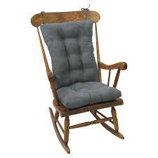 100 Jumbo Rocking Chair Klear Vu Gripper Twillo Cushion EBay