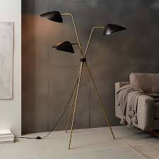 West Elm Mid Century Overarching Floor Lamp by Curvilinear Mid Century Floor Lamp By West Elm Floor Lamp