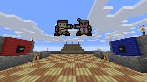 siege on castle steve castle siege pvp map maps mapping and modding