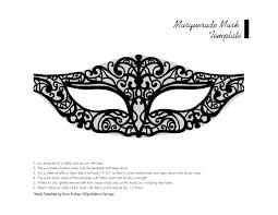 Halloween Half Mask Ideas by Chic Masquerade U2013 Diy Mask U0026 Template Sprinkles In Springs For