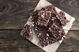 puffreis schokoladenriegel selber machen