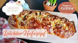 die wölkchenbäckerei leichter hefezopf osterzopf zu