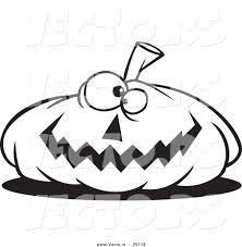 Scary Pumpkin Faces Printable by Vector Of A Cartoon Nearly Flat Jackolantern Halloween Pumpkin