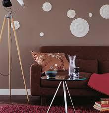 wandfarben braun beige grau und violett schöner wohnen