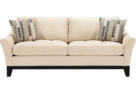 Cindy Crawford Microfiber Sectional Sofa by Cindy Crawford Home Newport Cove Vanilla Sofa Sofas Beige