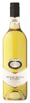 orange muscat flora 750ml wine muscat brown brothers