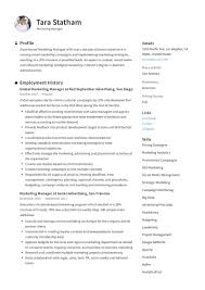 Marketing Manager Resume + Writing Guide   12 TEMPLATES   2019 Resume Examples Templates Orfalea Student Services 10 Best Marketing Rumes Billy Star Ponturtle Advertising Marketing Sample Professional Real That Got People Hired At Rumes Free You Can Edit And Download Easily Email Template Job Application Luxury Cover Letter Work Example Guide For 2019 What Your Should Look Like In Money And Pr Microsoft
