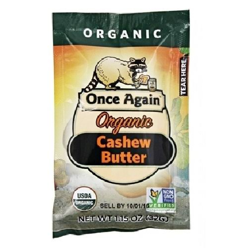 Once Again Cashew Butter, Organic - 1.15 oz packet