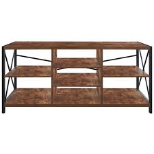 Saddlebrook Rustic Pine Entertainment Wall In 2019 New