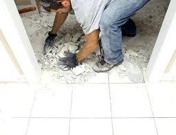 remove ceramic floor tile without breaking them interior home design