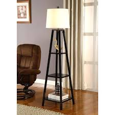 Modern Floor Lamps Wayfair by Floor Lamps With Shelves Lamp Wayfair And 7 Wooden Shelf 63 22