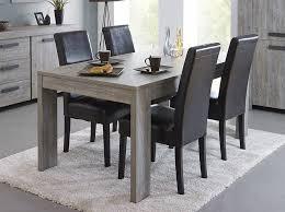 meuble table à manger contemporaine couleur chêne gris