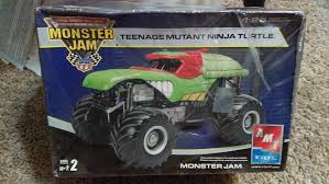 100 Ninja Turtle Monster Truck Amazoncom AMT Teenage Mutant S Jam 125