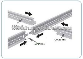 metal frame suspended ceiling hanger view decorative ceiling