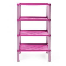 regal kunststoff badregal scaf pink