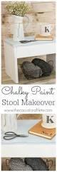 Americana Decor Chalky Finish Paint Hobby Lobby by Chalky Paint Stool Makeover
