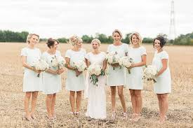 Bridesmaids Bouquets For S Rustic Luxe Barn Wedding