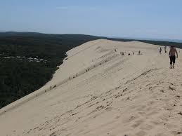 dune du pyla en cing car en aquitaine