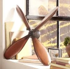 Vintage Rustic Style Airplane Propeller Aviation Wall Decor Sculpture Prop Plane