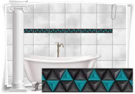 fliesenaufkleber fliesen aufkleber mosaik kachel türkis bad wc küche