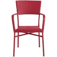 Pier One Papasan Chair Weight Limit by Del Rey Red Stacking Chair Pier 1 Imports