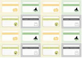 Printable Halloween Gift Tags Coloring Pages