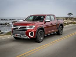 100 Truck Prices Blue Book Volkswagen Atlas Tanoak And Atlas Cross Sport Concept Review