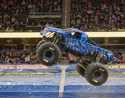 100 Monster Trucks Cleveland Blue Thunder Jam
