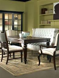 Upholstered Benches With Backs Dining Room Bench Back Table
