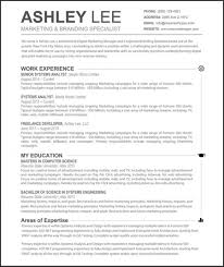 Resume Templates 10 Gorgeous Minimalist The American Genius Template Word Mac